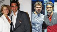 Ünlü tenisçi Federer, karısı yüzünden kavga etti