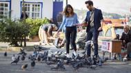 Günahkar setini güvercinler bastı