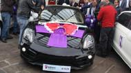 Porsche kazandığına inanmadı: Tıngırdatma