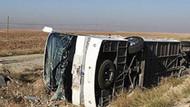 Afyon'da feci kaza: 17 yaralı!