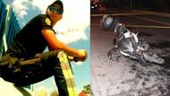 Motosikletli polis trafik kazasında şehit oldu