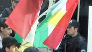 Sokakta Kürdistan bayrağı dağıttılar!