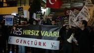 Beşiktaş'ta 17.25 protestosunda gözaltılar