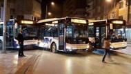 3 otobüs yan yana çarpıştı!