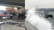 Kadıköy'de köprü yıkıldı!