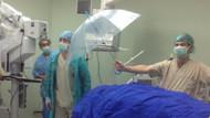 Ameliyattan şoke eden görüntü
