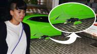 Asena Erkin'in Lamborghini'si nazara geldi