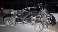 Bakırköy'de feci kaza: 1 ölü, 2 yaralı