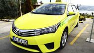 Bu taksi Türkiye'de bir ilk
