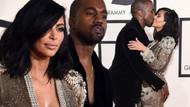 Kim Kardashian'ı poposundan tuttu ve..