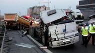 TEM'de TIR kazası! Ankara yolu trafiğe kapandı