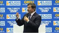 Davutoğlu: Bonzai Bahçeli, Bonzai Kılıçdaroğlu