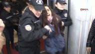 Taksim'de Özgecan protestosuna gözaltı