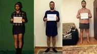 Azeri erkekler Özgecan için mini giydi
