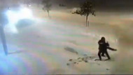 Halay çeken gençlere kar temizleme aracı çarptı!