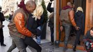 Kardashian ve Kanye nasıl poz vereceklerini şaşırdı