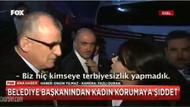AKP'li Başkandan, Davutoğlu'nun korumalarına küfür