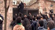 İstanbul Üniversitesinde olay! Özel güvenlikçileri dövdüler..