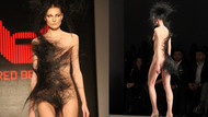 İstanbul Moda Haftası'na damga vuran elbise