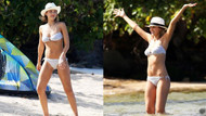 Jessica Alba ailesiyle tatil keyfi yaptı