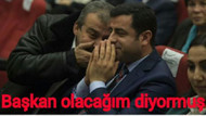 Demirtaş ve Önder'in bu karesi caps oldu