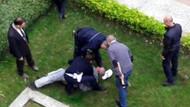 Allahuekber deyip Atatürk büstüne saldırdı