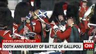 CNN ve BBC, Çanakkale'deki töreni canlı yayınladı