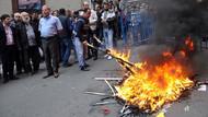 Trabzon'daki 1 Mayıs yürüyüşünde HDP'ye saldırı