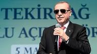Erdoğan: Birileri laf yapar, biz iş yaparız..