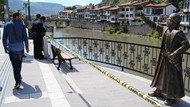 Şehzade heykeli saldırısında iki gözaltı