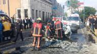 İETT otobüsü ile otomobil kafa kafaya çarpıştı: 1 ölü!