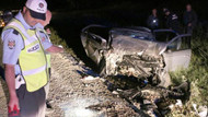 CHP seçim minibüsü kaza yaptı: 1 ölü
