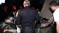 Üniversiteliler kaza yaptı: 5 yaralı