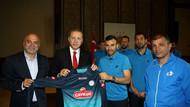 Galatasaray'dan sonra Rize de Ak Saray'da