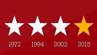 Ünlülerden Galatasaray'a 4. yıldız kutlaması!