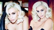 Kim Kardashian şimdi de Marilyn oldu