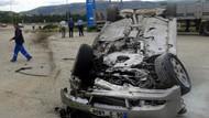 CHP'li adayın aracı takla attı! Çakırca ölümden döndü...