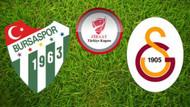 Galatasaray-Bursaspor maçı saat kaçta, hangi kanalda?