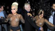 Lady Gaga'nın ilginç transparanı