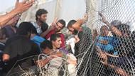 Suriye sınırından yürek burkan kareler...