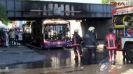 İETT otobüsü bomba gibi patladı!