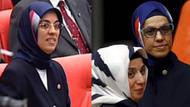16 yıl sonra ablasının başörtüsü ile Meclis'te