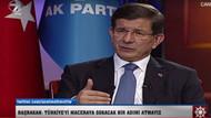Davutoğlu koalisyon için kafasındaki 2 partiyi açıkladı