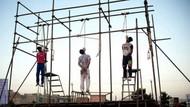 Tecavüzcüleri halka açık alanda idam ettiler