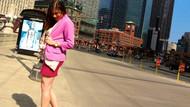 Milliyet'ten kadın çalışanlara mini etek yasağı