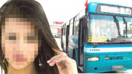 Halk otobüsünde taciz skandalı