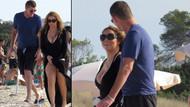 Mariah Carey'in elbisesi ile zor anları
