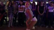 Kızlardan seksi dans +18