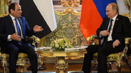 Mısır Cumhurbaşkanı Rusya'da