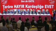 Ankara'da teröre karşı dev buluşma kararı